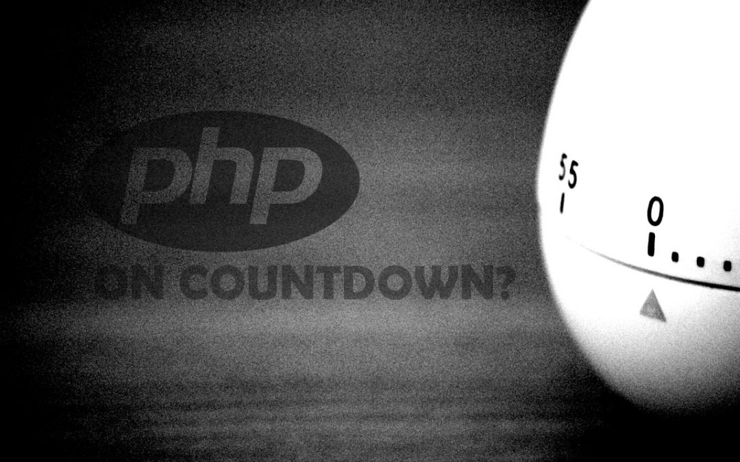 PHP on CountDown? PHP future